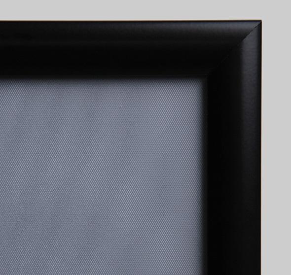 Marcos de aluminio con perfil abatible - MaxOffice.es